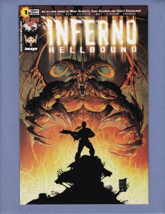 Inferno Hellbound #1 VF Michael Turner Variant Cover Top Cow 2002