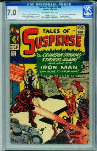 Tales Of Suspense #52 CGC 7.0-marvel-Iron Man-1st  Black Widow 1199220015
