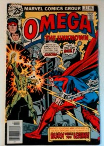 Omega the Unknown #3 Marvel 1976 VF Bronze Age Comic Book 1st Print