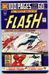 FLASH  #232 1973 Golden-Age Flash 100 page giant vf