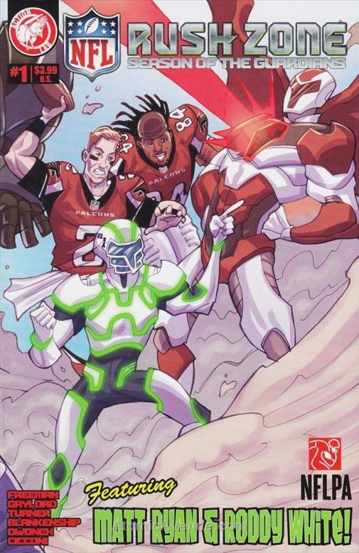 NFL Rush Zone: Season of the Guardians #1 VF/NM Action Lab - save on shipping -
