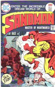 Sandman, the Jack Kirby #3 (Jul-75) VF/NM High-Grade Sandman