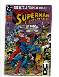Lot of 12 Superman DC Comic Books #34 35 37 39 40 41 42 43 44 46 47 49 J341