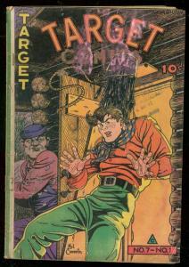 TARGET COMICS v.7 #1 1946-THE CADET-WALTER JOHNSON ART VG-