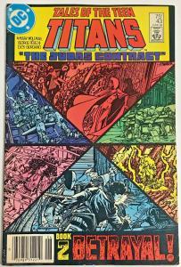 TEEN TITANS#43 VG/F 1984 'JUDAS CONTRACT' DC COMICS