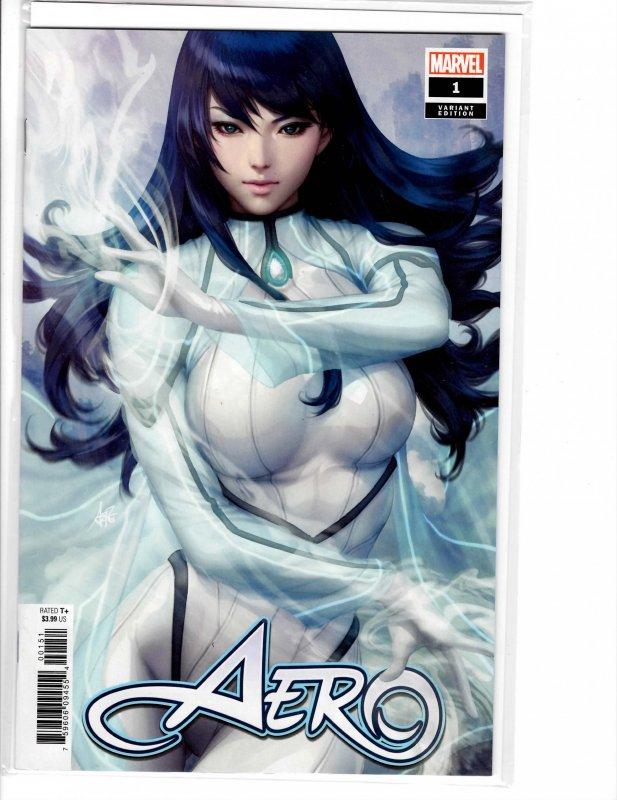 Aero (2019) #1 Artgerm Variant NM (9.4)