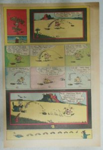 Krazy Kat Sunday by George Herriman from 10/18/1942 Tabloid Size Page