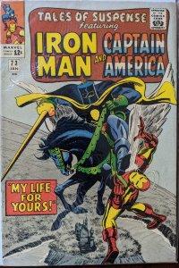 Tales of Suspense #73 (1966) BLACK KNIGHT! VF+