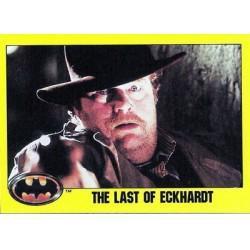 1989 Batman The Movie Series 2 Topps THE LAST OF ECKHARDT #142