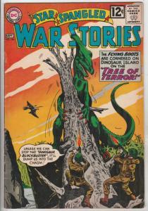 Star Spangled War Stories #104 (Sep-62) FN- Mid-Grade War That Time Forgot Di...