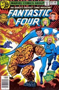 Fantastic Four (1961 series) #203, VF- (Stock photo)