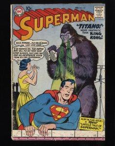 Superman #127 FA/GD 1.5