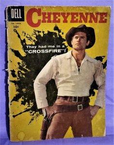 Clint Walker CHEYENNE #6 Photo Cover (Dell, 1958)!
