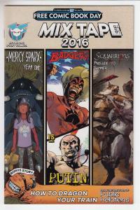 Mix Tape Mercy Sparx Badger Squarriors Devils Due Unstamped NM- FCBD 2016