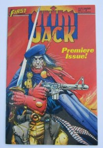 Grimjack #1 VF+ Premiere Issue 1st Print First Comics 1984 Timothy Truman