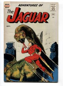 Adventures of the Jaguar #1 1961- Archie comics- First issue FN+