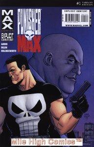 PUNISHERMAX (PUNISHER MAX) (2009 Series) #1 VARIANT Near Mint Comics Book