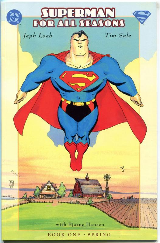 SUPERMAN For All Seasons #1, NM-, Tim Sale, Jeph Loeb, 1998, more DC in store