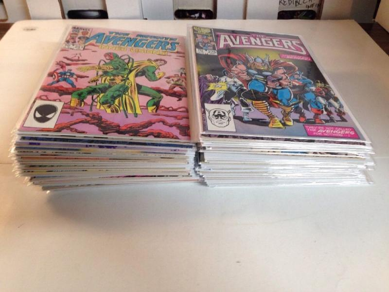Avengers 251-300 Missing 257 273 Near mint NM Lot Set Run 255 263 264 266 288