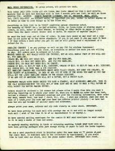 Stan's Magazine Exchange Mail Order Price List 1969- Historic Comic Fandom VG