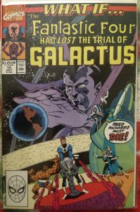 What If.. #15 NM The Fantastic Four Had Lost The Trial of Galactus