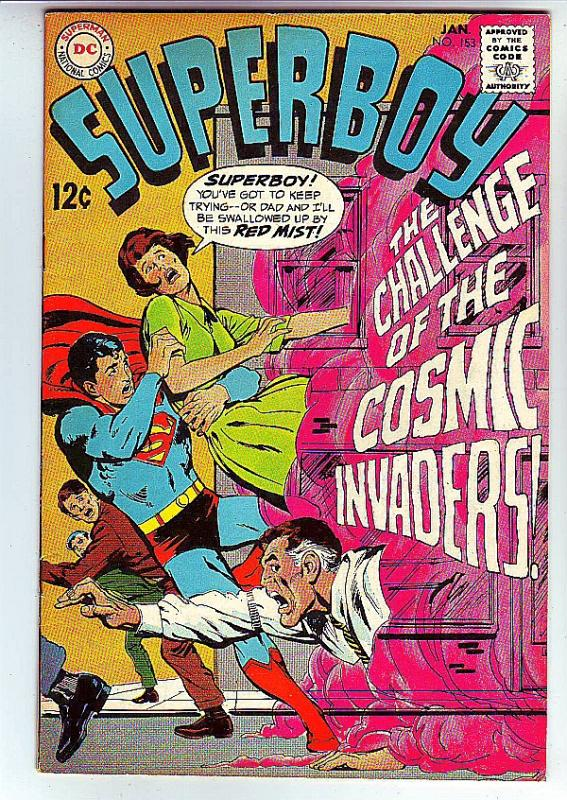 Superboy #153 (Jan-69) NM- High-Grade Superboy