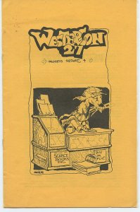 WESTERCON 27 Progress Report 4 (July 3-7, 1974) - Scarce FANZINE - Historical