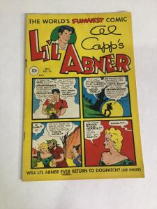 Li'l Abner Comics 70 Vg Very Good 4.0 Toby Press