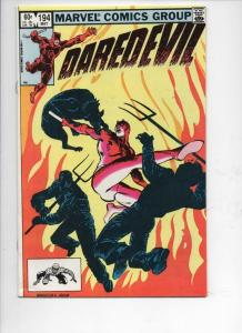 DAREDEVIL #194 VF  Murdock, Judgement, 1964 1983, more Marvel in store