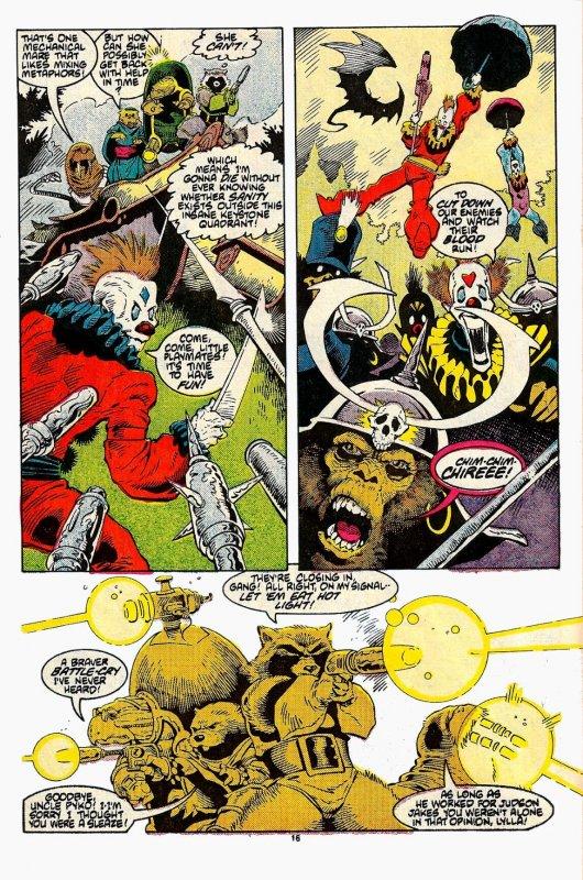 ROCKET RACCOON #1 - #4 (1985) 8.0 VF Full MiniSeries! Mike Mignola! Bill Mantlo!