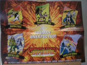 ARMAGEDDON INFERNO Promo poster,  1992, Unused, more in our store