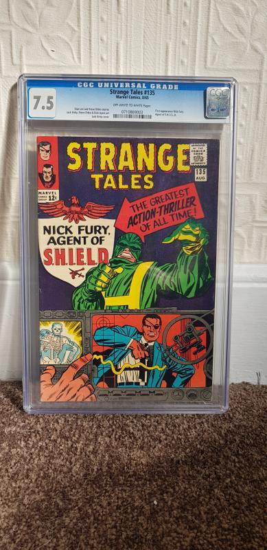Strange tales #135 CGC 7.5