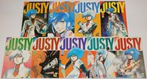 Justy #1-9 VF/NM complete series - viz manga comics set lot 2 3 4 5 6 7 8