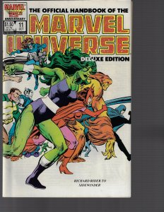 Official Handbook Of The Marvel Universe Deluxe Edition  #11  (Marvel, 1986) NM