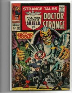 STRANGE TALES #161 - VG/FN - 1ST SILVER AGE YELLOW CLAW-LOW GRADE SILVER AGE KEY
