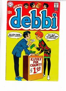 Date with Debbi #2 (Apr-69) FN/VF+ High-Grade Debbi