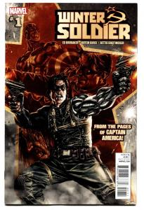 Winter Soldier #1-2012-Captain America-First issue comic book