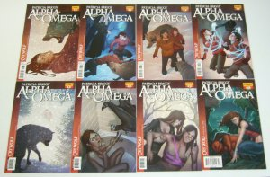Patricia Briggs' Alpha & Omega: Cry Wolf #1-8 complete series - jenny frison set