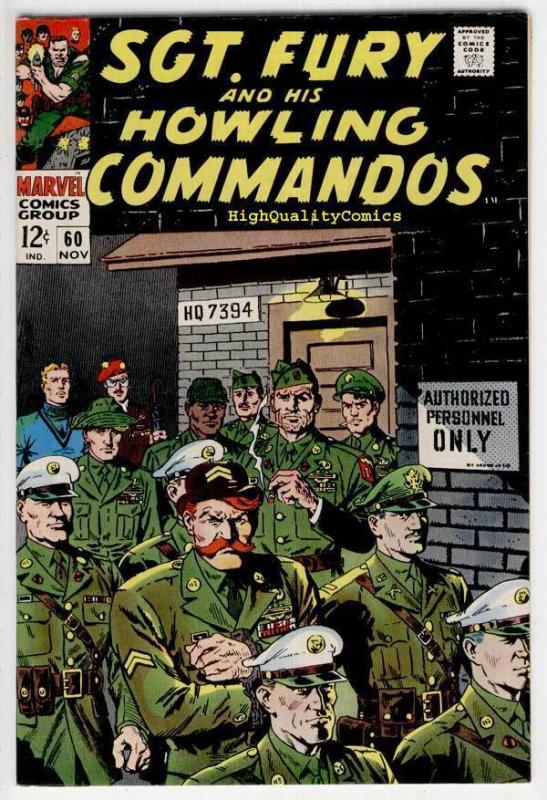 SGT FURY #60, NM-, War, WWII, John Severin, Court,1963, more War in store