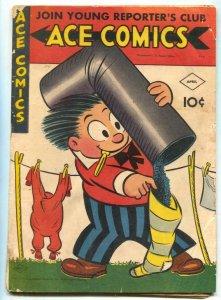 Ace Comics #97 1945- Phantom- Jungle Jim G/VG