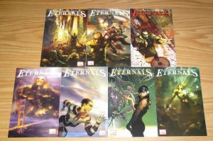 Eternals vol. 3 #1-7 VF/NM complete series - neil gaiman - john romita 2 3 4 5 6