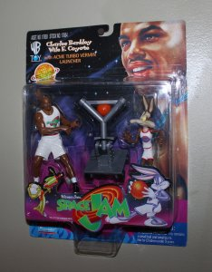 Michael Jordan Space Jam: Charles Barkley vs Wile E. Coyote Figure MOC  1996