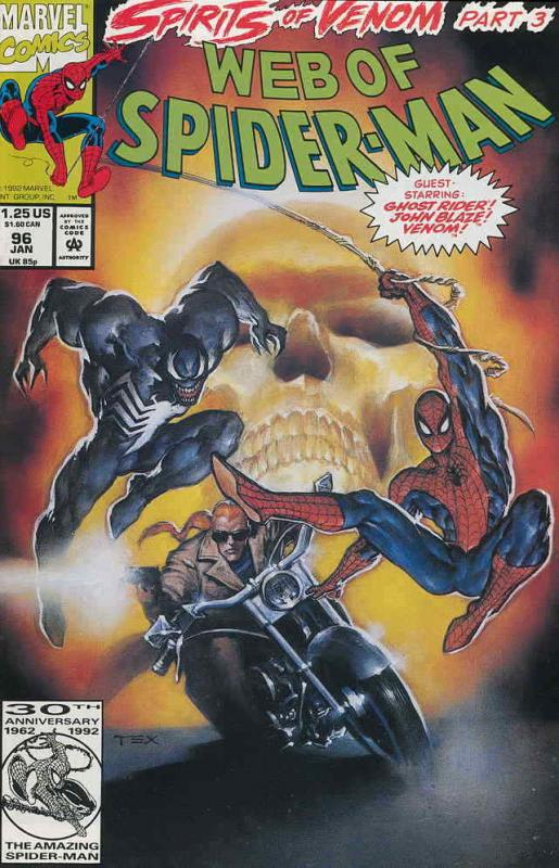 Web of Spider-Man, The #96 VF; Marvel | combined shipping available - details in