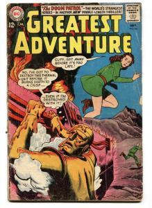 MY GREATEST ADVENTURE #82 1963-DOOM PATROL-DC COMICS G