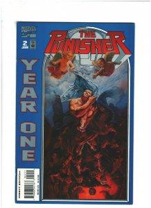 Punisher Year One #2 VF+ 8.5 Marvel Comics 1994