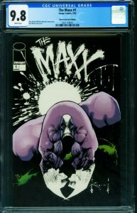 THE MAXX #1 CGC 9.8 1st issue -GLOW IN THE DARK - 2021118010