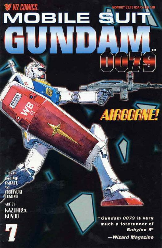 Mobile Suit Gundam 0079 #7 FN; Viz | save on shipping - details inside