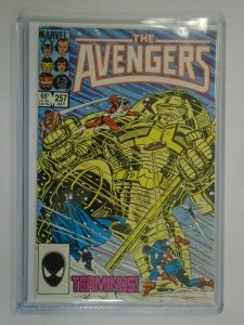 Avengers #257 Direct edition 9.2 NM- CGC it (1985 1st Series)