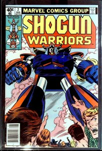 Shogun Warriors #7 (1979)