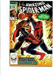 The Amazing Spider-Man #250 - Hobgoblin - 1984 - Near Mint
